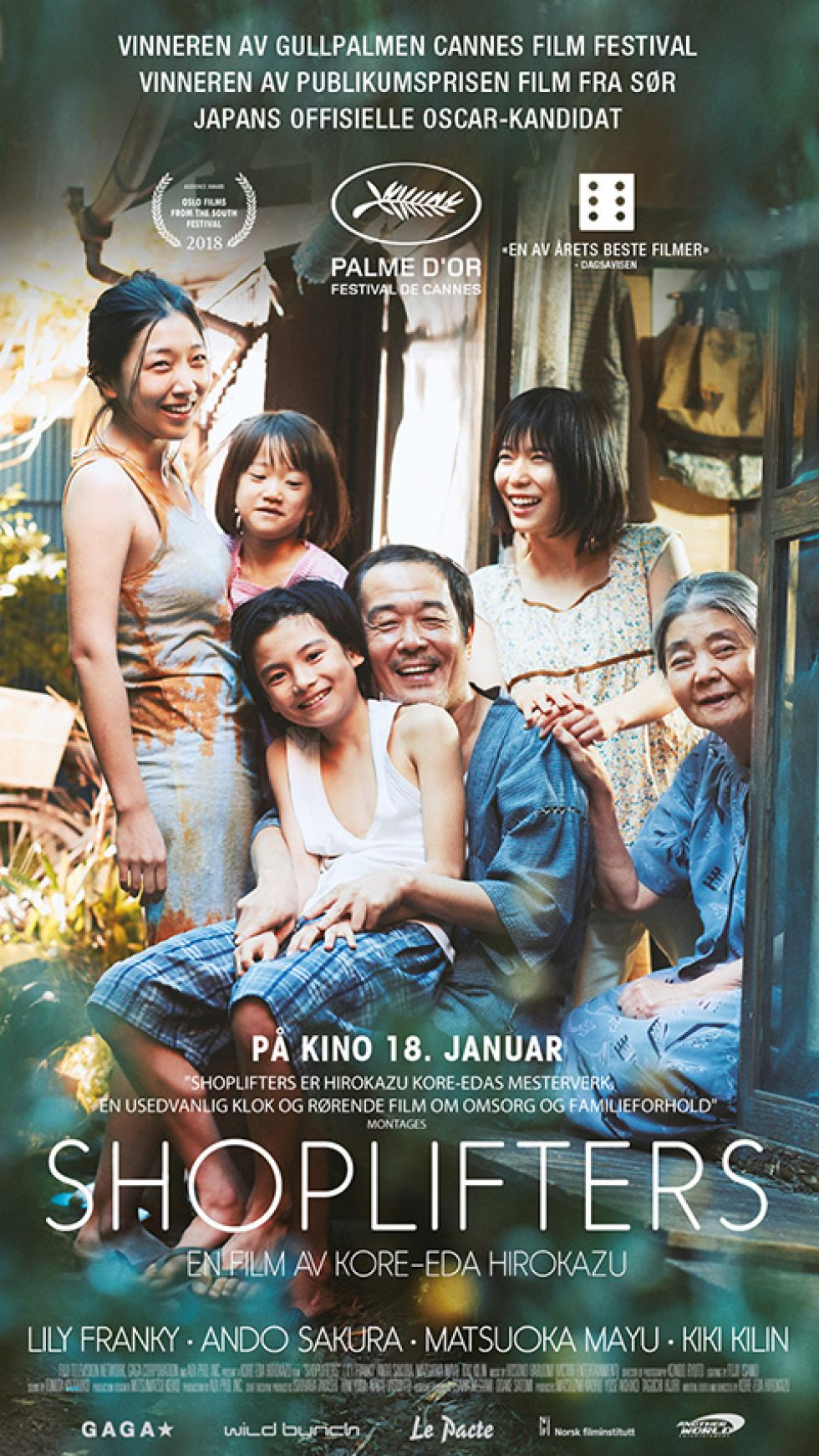 OSCARkino: Shoplifters
